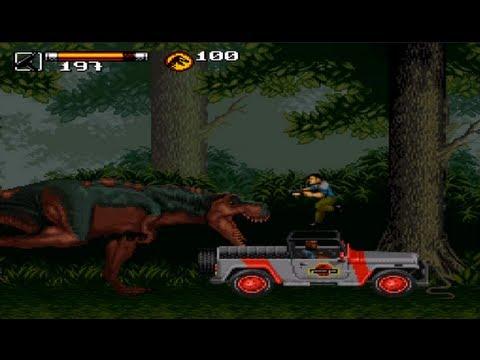 Jurassic Park Ii T Rex Carnage Youtube