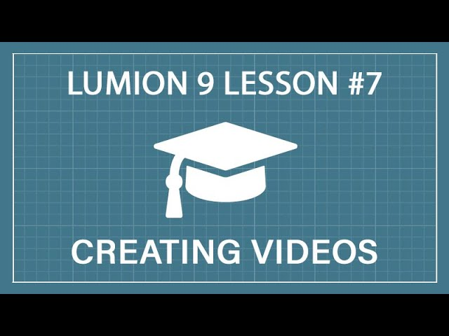 How to Render 3D Animations & Videos: Lumion 9 - Tutorial