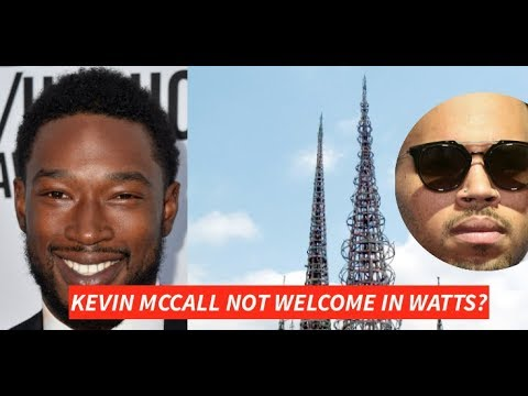 Kevin McCall NOT Welcome In WATTS? He is Injured may have done himself (Chris Brown vs Kevin MCcall)