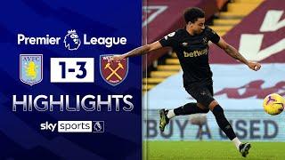 Jesse Lingard scores twice on West Ham debut! | Aston Villa 1-3 West Ham | EPL Highlights