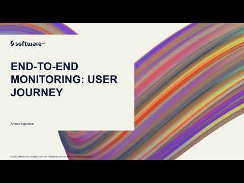 webMethods.io Integration Tutorials - End to end Monitoring: User Journey