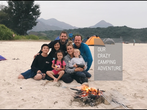 OUR CRAZY CAMPING ADVENTURE IN HONG KONG