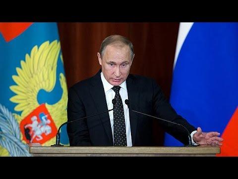Putin acusa NATO e estende mão à Turquia