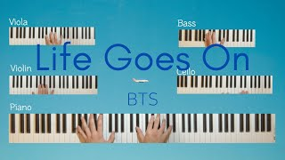 Life Goes On - BTS Piano and String Orchestra Cover!