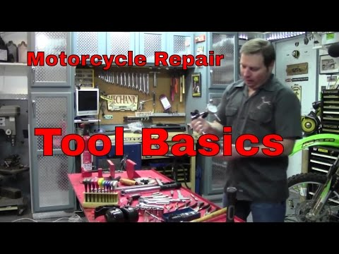 Tool basics for motorcycle repair, what you need to have in the toolbox