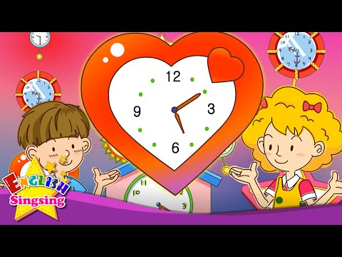 Time for homework. It's five ten. (Time song) - Rap for Kids - English song with lyrics