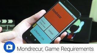 Mondrecur a Game Requirements (Android aplikace týdne)