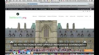 Do you recognize and uphold Indigenous Sovereignty?