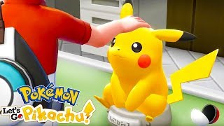 PIKACHU Is My DAD | Pokémon Let's Go Pikachu #1