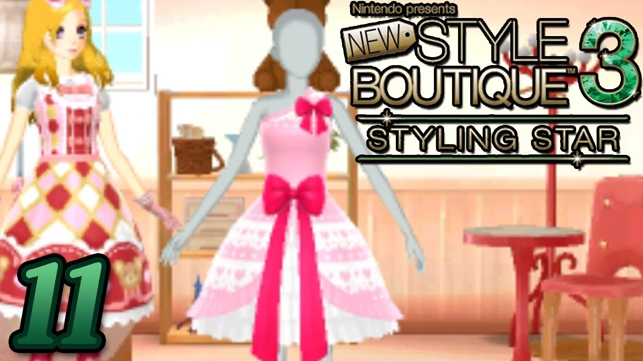 New Style Boutique 3 Styling Star Designing Clothes Part 11 Gameplay Walkthrough Youtube