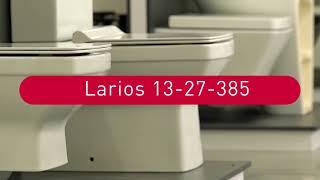 Обзор серии керамики Larios от ТМ Volle: подвесной унитаз и компакт
