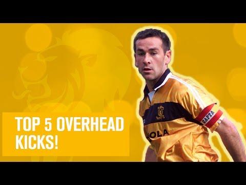 Top 5 Overhead Kicks!
