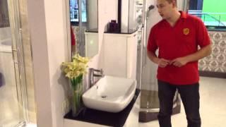 Комплект мебели для ванной комнаты Appollo UV-3869(www.appollo-info.ru Комплект мебели изготовленной из мдф и прокрытый лаком. В комплект входит: подвесная тумба с..., 2014-08-15T08:02:21.000Z)