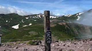大雪山は黒岳登山へと
