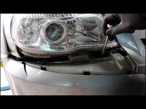 Как снять решетку радиатора шевроле нива