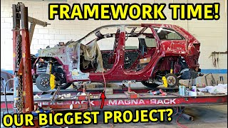 Rebuilding A Wrecked 2018 Jeep Trackhawk Part 8