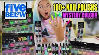 Mixing my 100 Nail Polishes Together! What Will Happen?!