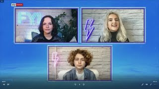 Tilly Lockey FYI episode 119 SKY TV
