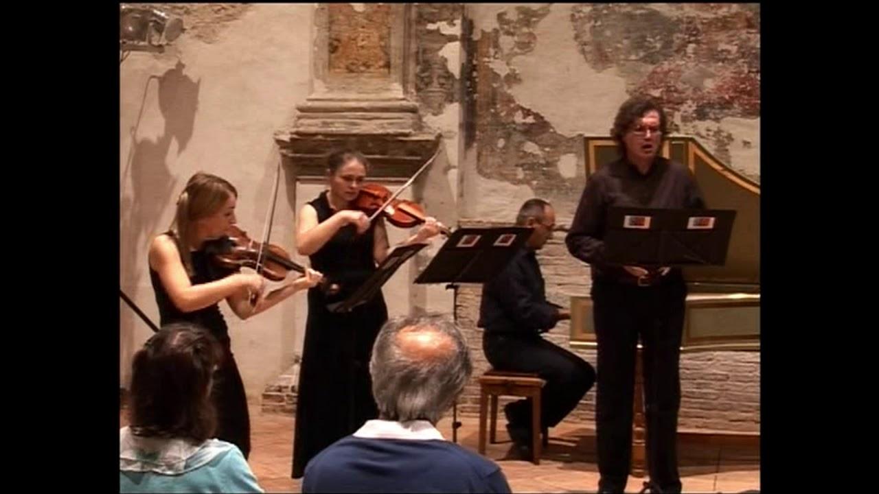 """A. Scarlatti cantata """"Sotto l'ombra di un faggio"""""""