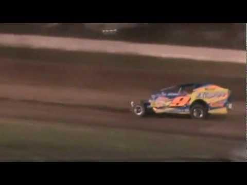 2012 MATT SHEPPARD ROLLING WHEELS RACEWAY HEAT RACE STARS AND STRIPES 100 SUPER DIRTcar SERIES