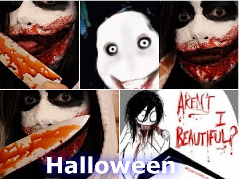 Jeff the Killer Maquillaje Para Halloween Videos De Viajes