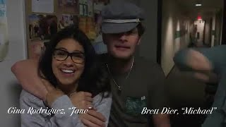 brett dier surprised the jane the virgin cast