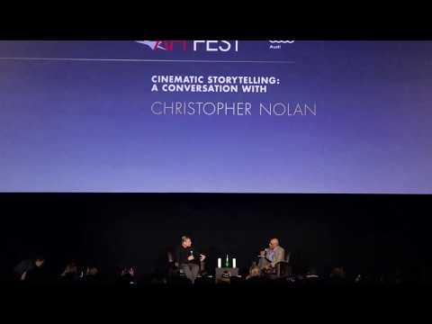 A Conversation with Christopher Nolan - AFI FEST (2017)