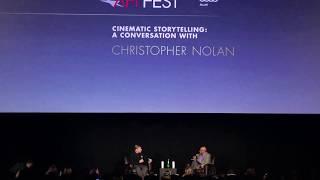 "A Conversation with Christopher Nolan ""Dunkirk"" - AFI FEST (2017)"