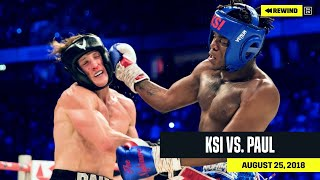 FULL FIGHT | KSI vs. Logan Paul (DAZN REWIND)