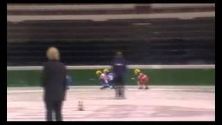 Short Track 666 metros semifinal Gaston - Bolzano Italia 2011.wmv