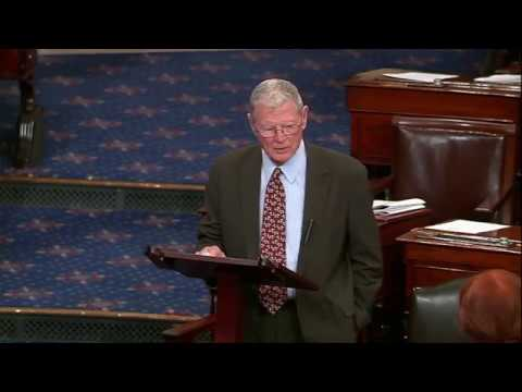 Inhofe Floor Speech about Ethiopia