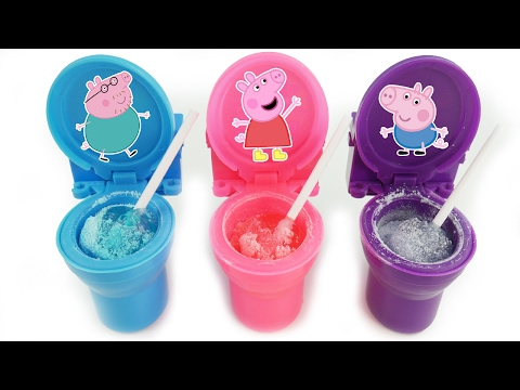Best Learning Colors Video for Children Peppa Pig Preschool Education Construction House Fun Play