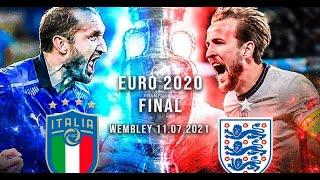 Футбол Чемпионат Европы 2020 Финал Италия Англия