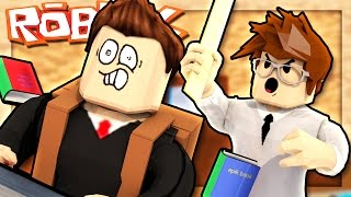 Roblox Adventures - ESCAPE THE EVIL TEACHER! (Escape School Obby)
