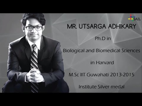 The Grad Talks: Mr. Utsarga Adhikary (Class of 2015), PhD student at Harvard