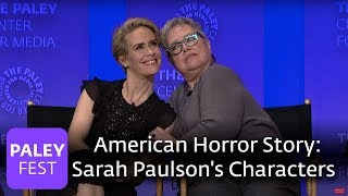 American Horror Story - Hotel: Sarah Paulson's Many Characters - PALEYFEST LA 2016