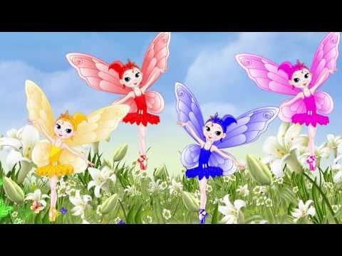 Бабочка чудесная. Музыкальный мультик для самых маленьких / Butterfly song for babies. Наше всё!