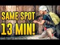 HE CAMPED THE SAME SPOT FOR 13 MINUTES! PUBG NEW MAP - EXPERIMENTAL