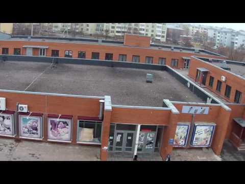 г. Богучар военный городок. видео с высоты 2014 год