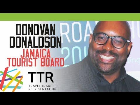 Donovan Donaldson, Jamaica Tourist Board - Travel Industry Road Show