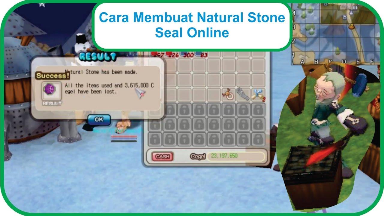 Cara Membuat Natural Stone | Seal Online - YouTube