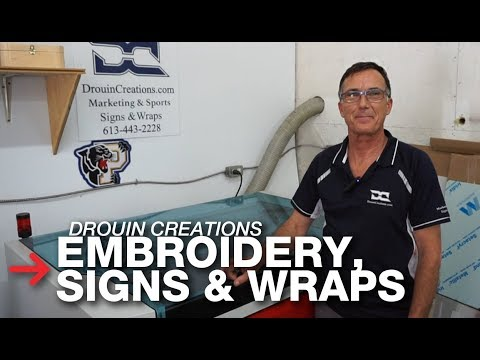 Embroidery Company | Laser Engraving Business | Trotec