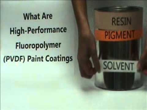 What is PVDF paint