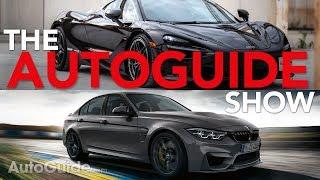 The AutoGuide Show Ep.4: 2018 BMW M3 CS, 2018 Acura RDX, Infiniti QX50, Subaru WRX STI, McLaren 720S