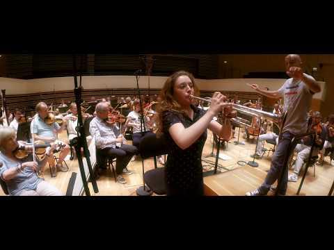 Lucienne Renaudin Vary records Rossini's La Danza for Trumpet & Orchestra