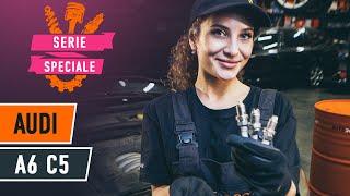 Sostituzione Candele benzina AUDI A6: manuale tecnico d'officina