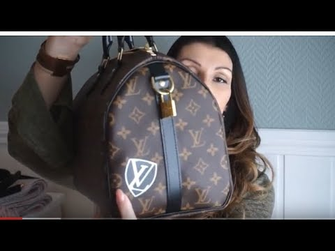 ba113619f1 What`s in my bag Louis vuitton//World Tour SPEEDY 30/lvlovermj