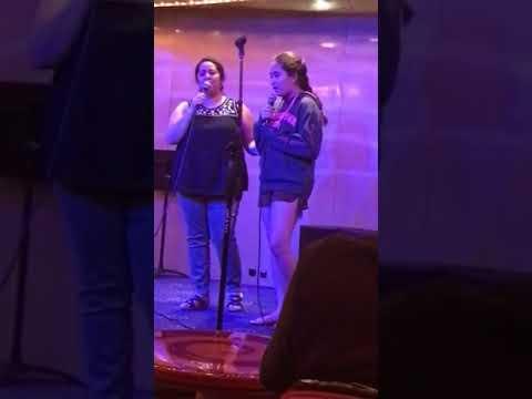 Katie karaoke 1