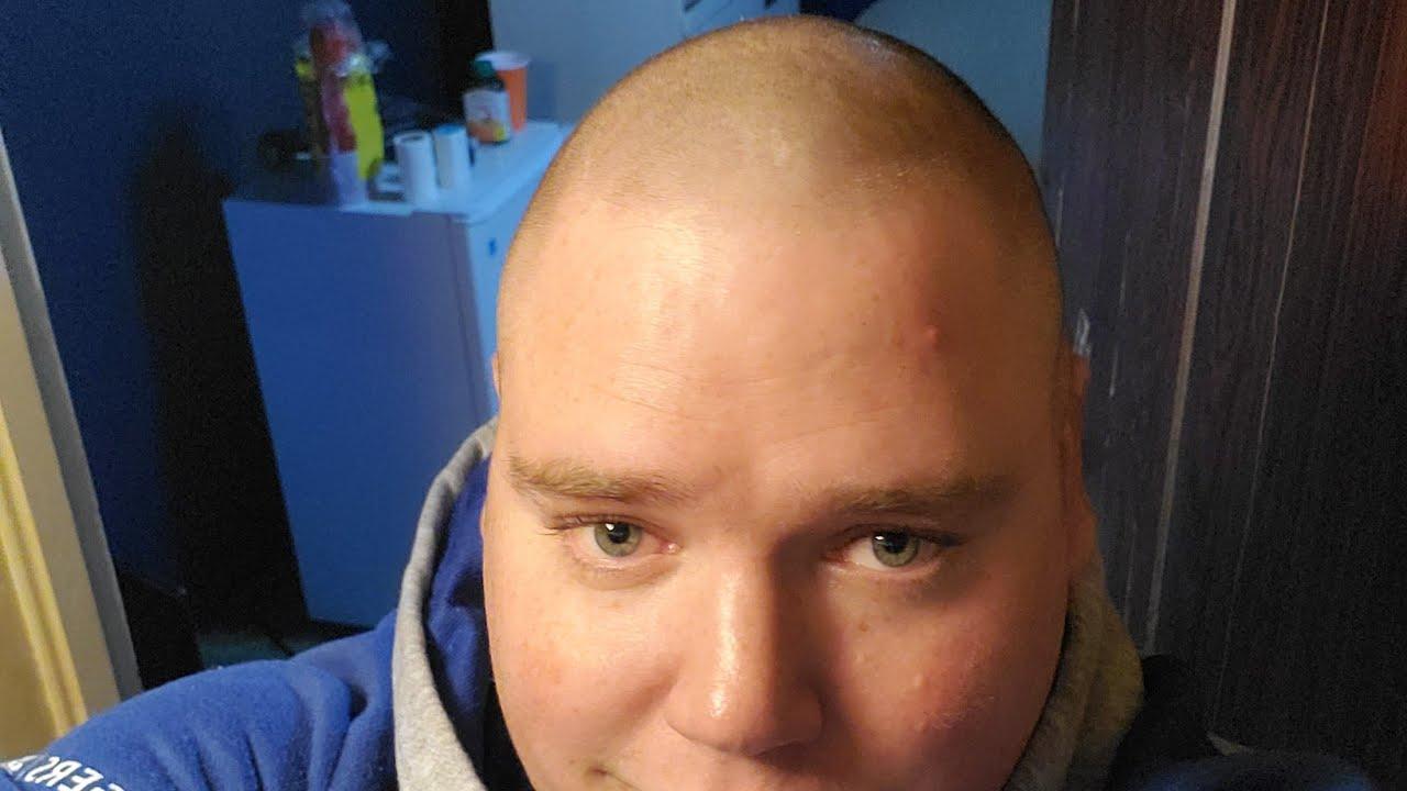 i FINALLY shaved my head - YouTube