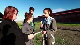 Landes: les élèves du lycée agricole de  Dax-Oeyreluy  au Salon de l'agriculture